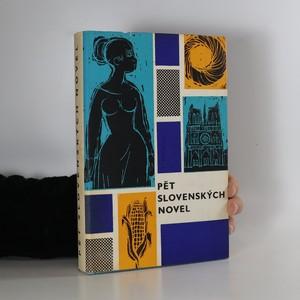 náhled knihy - Pět slovenských novel