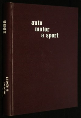 náhled knihy - Auto motor a sport
