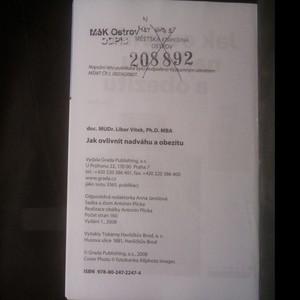 antikvární kniha Jak ovlivnit nadváhu a obezitu, 2008