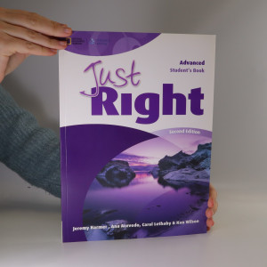 náhled knihy - Just Right. Advanced Student's Book