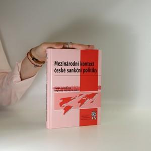 náhled knihy - Mezinárodní kontext české sankční politiky