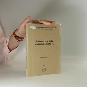 náhled knihy - Kulturní pluralita současného světa. II.