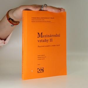 náhled knihy - Mezinárodní vztahy II