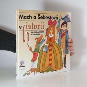 náhled knihy - Mach a Šebestová v historii (věnování a kresba A. Borna)