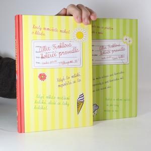náhled knihy - Allie Finklová - Holčičí pravidla. 1. - 2. díl. (2 svazky)