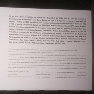 antikvární kniha Axel Hütte : Theorea., neuveden