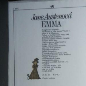 antikvární kniha Emma, 1982