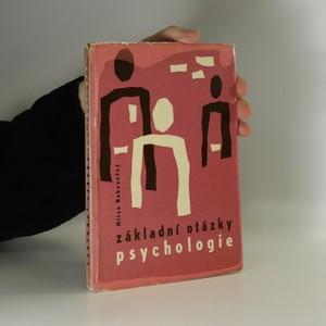 náhled knihy - Základní otázky psychologie