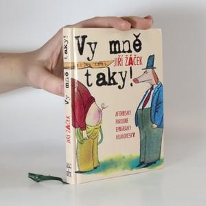 náhled knihy - Vy mně taky! - aforismy, parodie, epigramy, humoresky