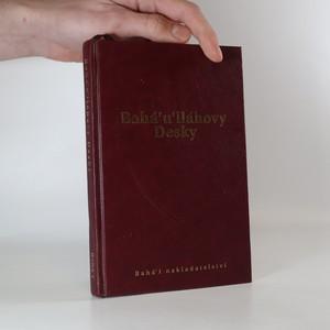 náhled knihy - Bahá'u'lláhovy Desky zjevené po Kitáb-i-Aqdas
