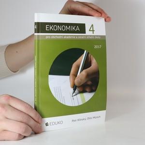náhled knihy - Ekonomika pro obchodní akademie a ostatní střední školy. 4