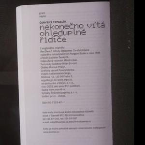 antikvární kniha Červený trpaslík nekonečno vítá ohleduplné řidiče, 2002