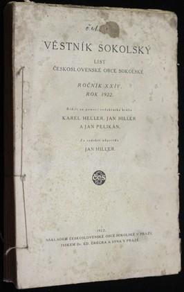 náhled knihy - Věstník sokolský - list československé obce sokolské, ročník XXIV. rok 1922