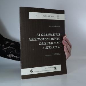 náhled knihy - La grammatica nell'insegnamento dell'italiano a stranieri