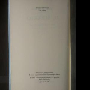 antikvární kniha Il sipario, neuveden