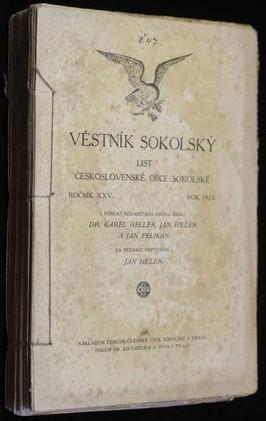 náhled knihy - Věstník sokolský ročník XXV. , List československé obce sokolské