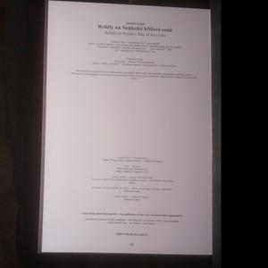 antikvární kniha Reliéfy na Nejdecké křížové cestě = Reliefs on Nejdek's way of the cross, 2008