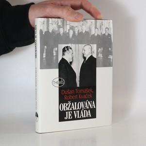 náhled knihy - Obžalována je vláda