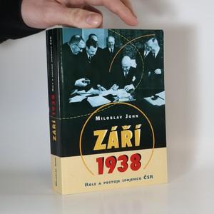 náhled knihy - Září 1938. Role a postoje spojenců ČSR