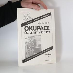 náhled knihy - Okupace čs. letišť v r. 1939