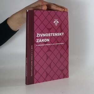 náhled knihy - Živnostenský zákon a prováděcí nařízení vlády s komentářem