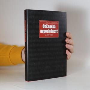 náhled knihy - Občanská neposlušnost a jiné eseje