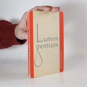 náhled knihy - Lumen gentium : Světlo národů : Věroučná konstituce o církvi