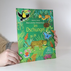 náhled knihy - Mein erstes Stickerbuch. Im Dschungel.