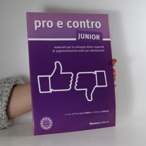 náhled knihy - Pro e contro junior