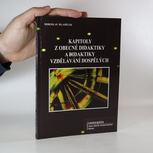 náhled knihy - Kapitoly z obecné didaktiky a didaktiky vzdělávání dospělých