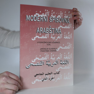 náhled knihy - Moderní spisovná arabština. 2. díl.