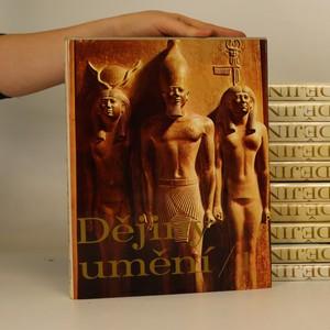 náhled knihy - Dějiny umění I. - XI. (11 svazků)