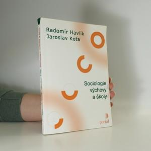 náhled knihy - Sociologie výchovy a školy