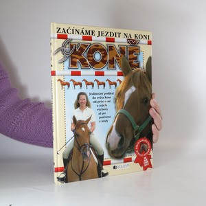 náhled knihy - Koně. Začínáme jezdit na koni