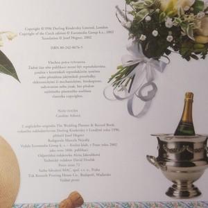 antikvární kniha Naše svatba : kalendář svatebních příprav a pamětní album, 2002