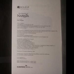 antikvární kniha Letopisy Narnie. Princ Kaspian, 2015
