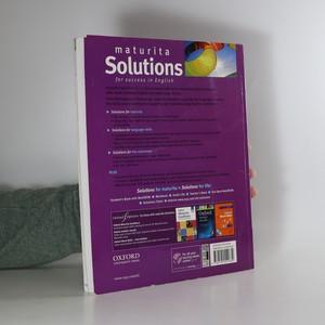 antikvární kniha maturita Solutions. Intermediate Student's Book, 2013