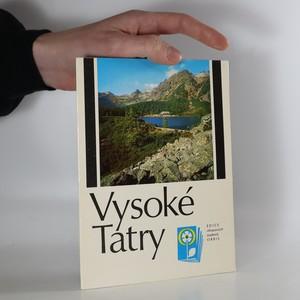 náhled knihy - Vysoké Tatry (kompletní, slovensky)