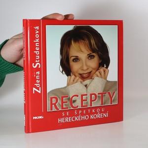 náhled knihy - Recepty se špetkou hereckého koření