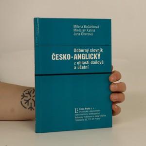 náhled knihy - Odborný česko-anglický slovník z oblasti daňové a účetní