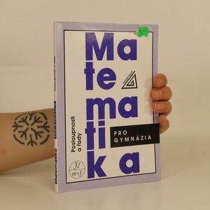 náhled knihy - Posloupnosti a řady. Matematika pro gymnázia.