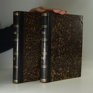 náhled knihy - Osvěta. Listy pro rozhled v umění,vědě a politice 1884 I.-II. Díl (dva svazky)