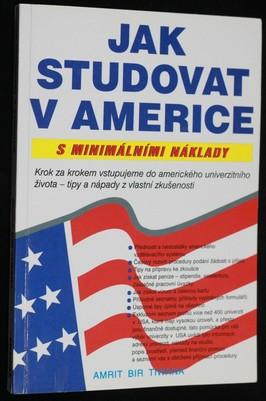 náhled knihy - Jak studovat v Americe s minimálními náklady