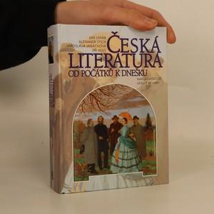 náhled knihy - Česká literatura od počátků k dnešku