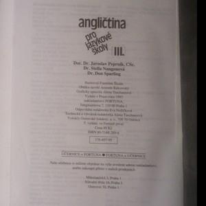 antikvární kniha Angličtina pro jazykové školy III., 1995