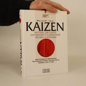 náhled knihy - Kaizen. Metoda, jak zavést úspornější a flexibilnější výrobu v podniku