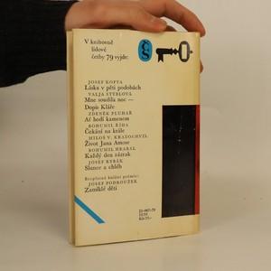 antikvární kniha Mne soudila noc. Dopis Kláře, 1979