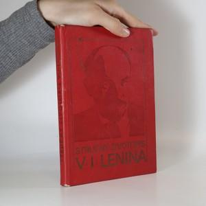 náhled knihy - Stručný životopis V. I. Lenina
