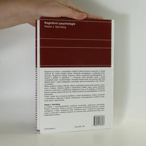 antikvární kniha Kognitivní psychologie, 2002