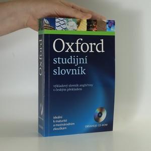 náhled knihy - Oxford studijní slovník : výkladový slovník angličtiny s českým překladem (bez CD)